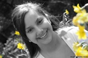 yellowgirlblackandwhite