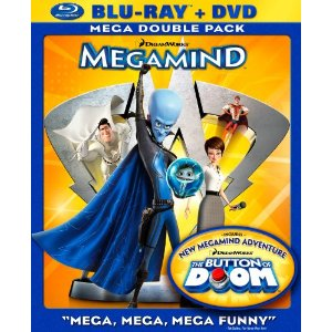 Megamind BluRay combo